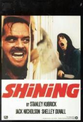 The Shining movie poster [Jack Nicholson, Shelley Duvall] 27x39