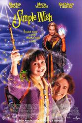 A Simple Wish movie poster [Mara Wilson/Martin Short/Kathleen Turner]