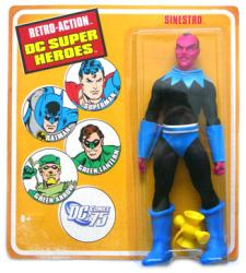Retro Action DC Super Heroes: Sinestro action figure (Mattel)