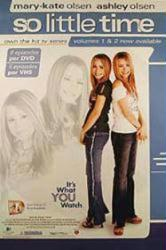 So Little Time TV poster [Mary-Kate & Ashley Olsen] 27x40