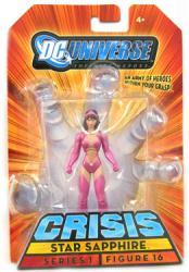 DC Universe [Crisis] Star Sapphire action figure (Mattel/2008) New