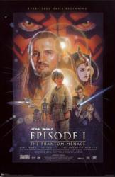 Star Wars Episode I: The Phantom Menace movie poster (22 1/2'' X 34'')