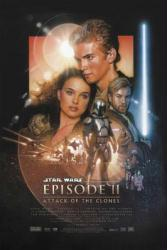 Star Wars Episode II: Attack of the Clones movie poster (22x34)
