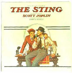 The Sting: Original Motion Picture Soundtrack LP (MCA /1974) VG