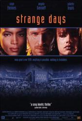 Strange Days movie poster [Ralph Fiennes/Angela Bassett] video poster