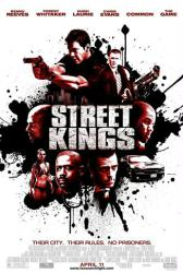 Street Kings movie poster /Keanu Reeves/Forest Whitaker/Hugh Laurie/VG