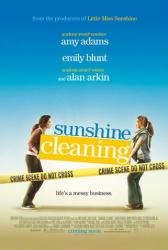 Sunshine Cleaning movie poster [Amy Adams & Emily Blunt] 2008