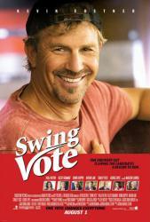 Swing Vote movie poster [Kevin Costner] 27x40 original