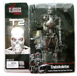 Cult Classics Series 3 [T2] Endoskeleton action figure (NECA/2005) New