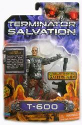 Terminator Salvation: 4 1/2'' T-600 action figure (Playmates/2009)