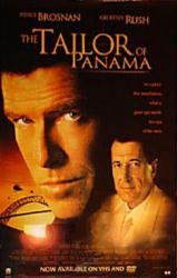 The Tailor of Panama movie poster [Pierce Brosnan/Geoffrey Rush] 27x40