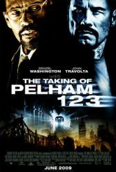 The Taking of Pelham 123 poster [Denzel Washington/John Travolta]