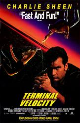 Terminal Velocity movie poster [Charlie Sheen/Nastassja Kinski] video