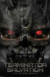 Terminator Salvation movie poster (22 1/2'' X 34'')