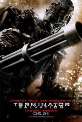 Terminator Salvation movie poster (advance teaser)