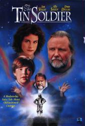 The Tin Soldier movie poster [Jon Voight, Ally Sheedy & Dom DeLuise]