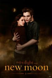 Twilight Saga: New Moon poster [Robert Pattinson & Kristen Stewart]