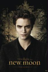 The Twilight Saga: New Moon movie poster [Robert Pattinson as Edward]
