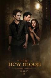 The Twilight Saga: New Moon poster [Pattinson/Lautner/Kristen Stewart]