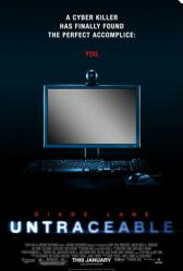 Untraceable movie poster (2008) 27x40 original