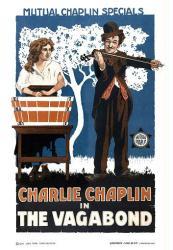 The Vagabond movie poster (1916) [Charlie Chaplin & Edna Purviance]