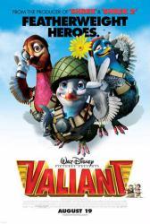 Valiant movie poster (animated) original 27x40
