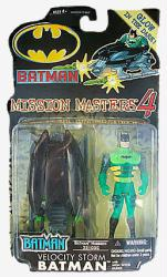 Batman Mission Masters 4: Velocity Storm Batman action figure (Hasbro)