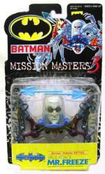 Batman Mission Masters 3: Virus Attack Mr. Freeze figure (Hasbro)