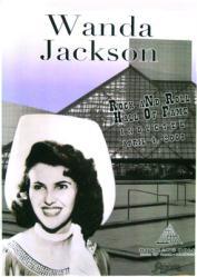 Wanda Jackson poster: 2009 Agora Concert (Rock and Roll Hall of Fame)