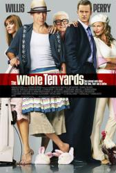 The Whole Ten Yards movie poster [Bruce Willis, Matthew Perry] 27x40