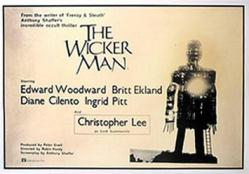 The Wicker Man movie poster (1973) 40'' X 27''