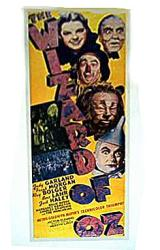The Wizard of Oz movie poster [Judy Garland, Ray Bolger & cast]