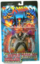 X-Men Battle Brigade: Wolverine Patch action figure (ToyBiz/1996)