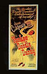 Yankee Doodle Dandy movie poster [James Cagney]