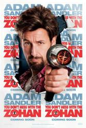 You Don't Mess With the Zohan movie poster [Adam Sandler]