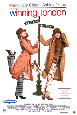 Winning London Movie Poster Mary Kate Ashley Olsen