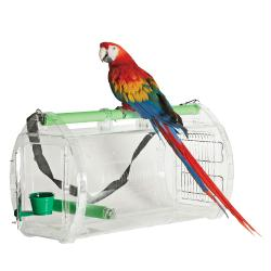 Perch and Go Travel Cage-medium-Large FREE SHIP