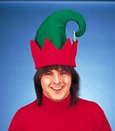 Santas Helper Jingle Bell Elf Hat