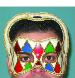 Mask Masquerade Carnivale Halloween Clown Mask