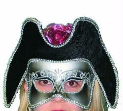 Mask Elegant Masquerade Carnivale Silver Mask