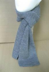ALPACA SOLID KNITTED SCARVES-3PACK