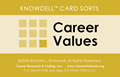 Career Values Card Sort (Knowdell) - online