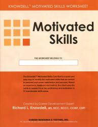 Motivated Skills Worksheets (Knowdell)