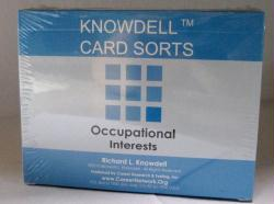 Occupational Interests Card Sort (Knowdell) - cards