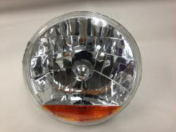 "Snake Eye 7"" Halogen Headlight Assembly with Amber Turn Signal Lens (Each)"