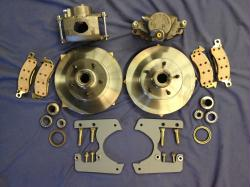 1935-54 Mopar Truck & 1935-45 Car Complete Front Disc Brake Conversion Kit