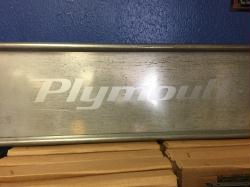 1939-1941  Plymouth Truck tailgate Decal