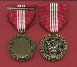 Army Superior Civilian Service Award medal