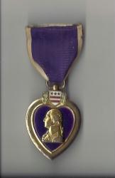 WWI Navy and Marine Corps USMC Purple Heart Award Medal