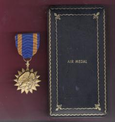 Air Medal in WWII Case